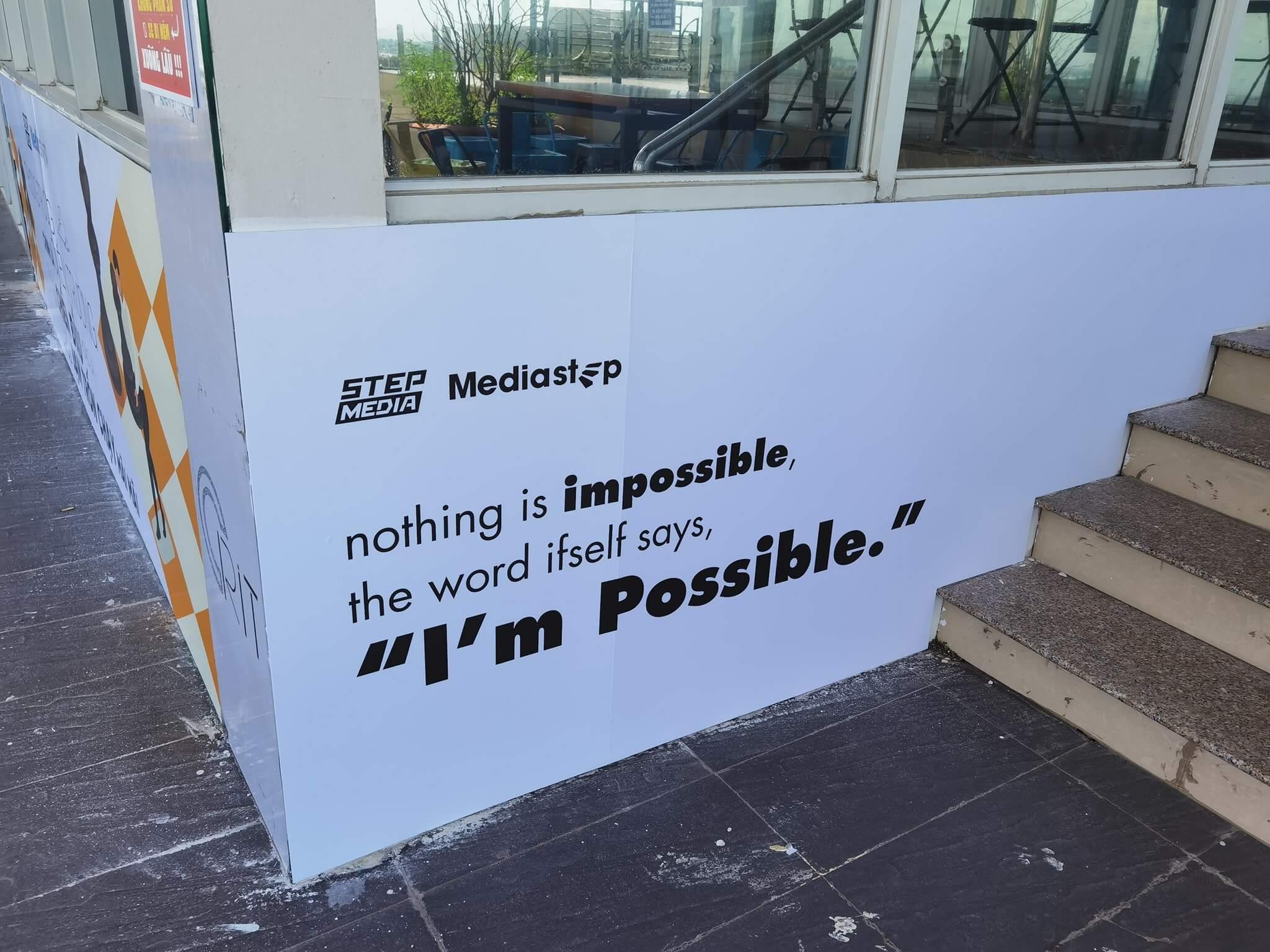 media step