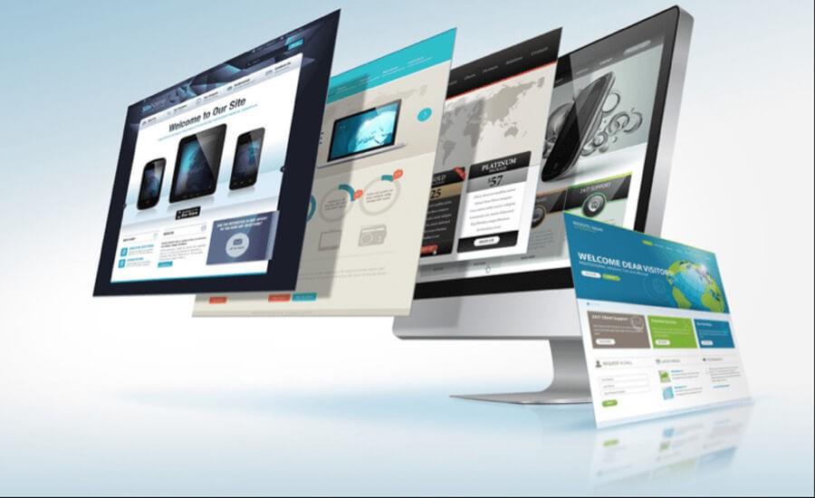 thiết kế web 4 bước