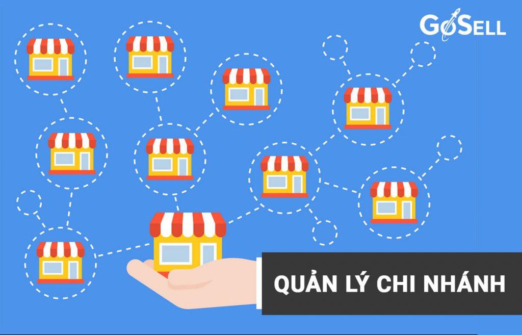 Quản lý kho hàng hóa cho cửa hàng nhiều chi nhánh