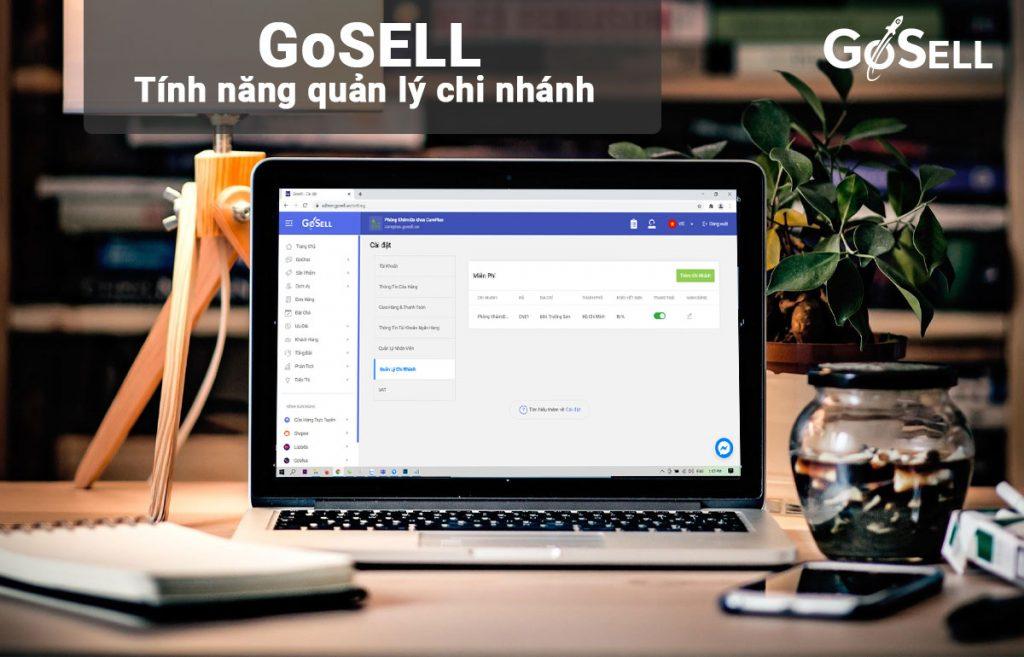 Giải pháp quản lý bán hàng cho doanh nghiệp có nhiều chi nhánh cửa hàng của GoSELL