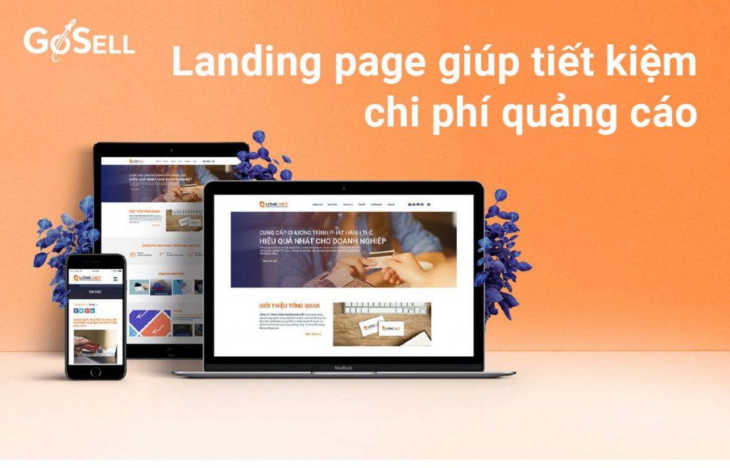 Chạy quảng cáo landing page