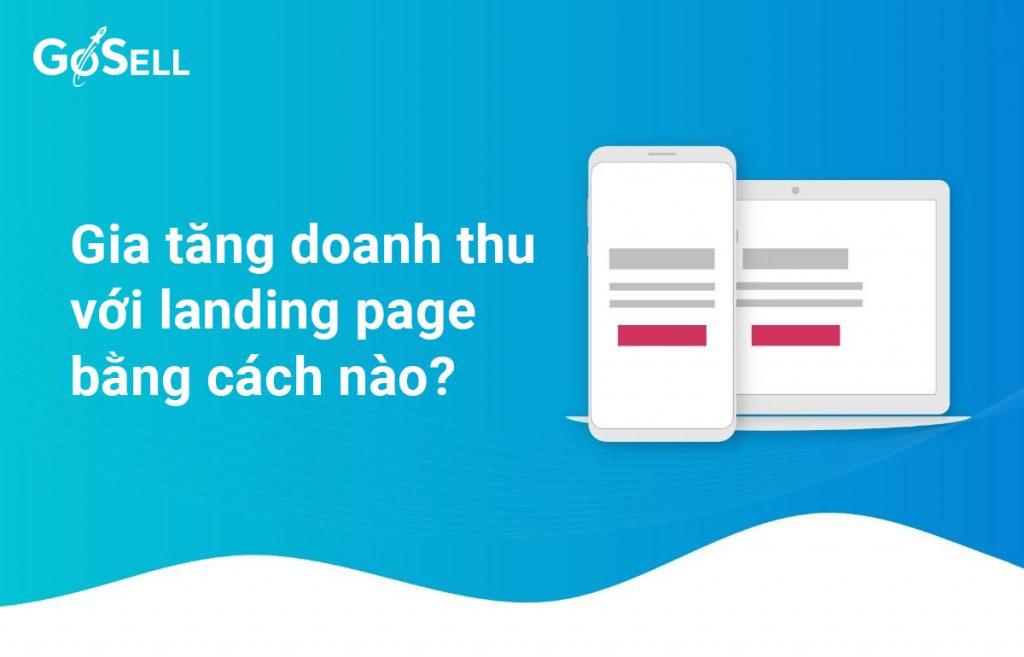 tăng doanh thu với landing page