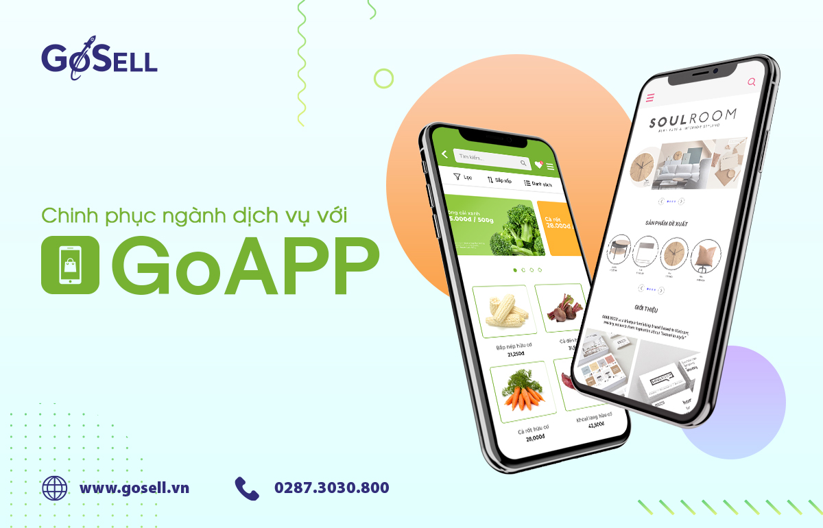 Chinh phục ngành dịch vụ tốt hơn với GoAPP