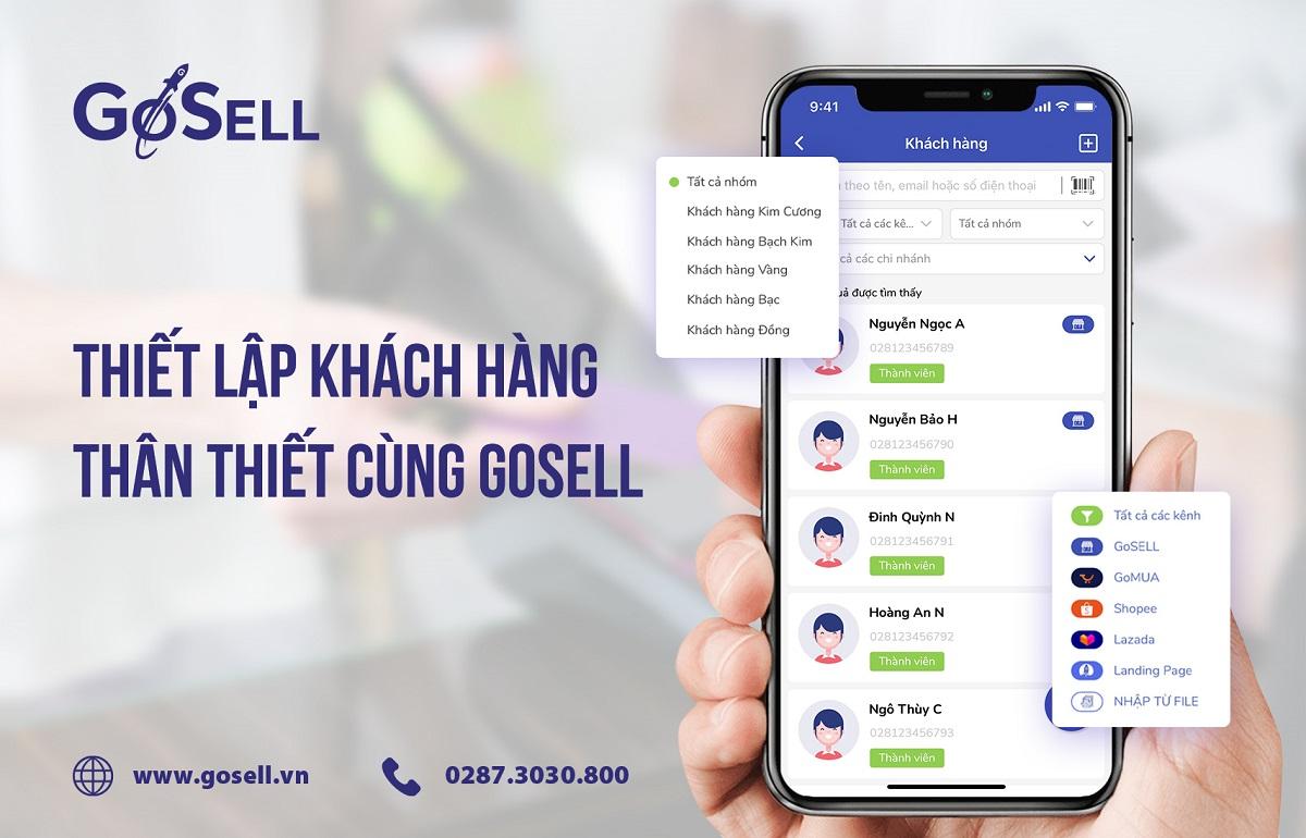 Xây dựng chương trình khách hàng thân thiết dễ dàng với GoSELL