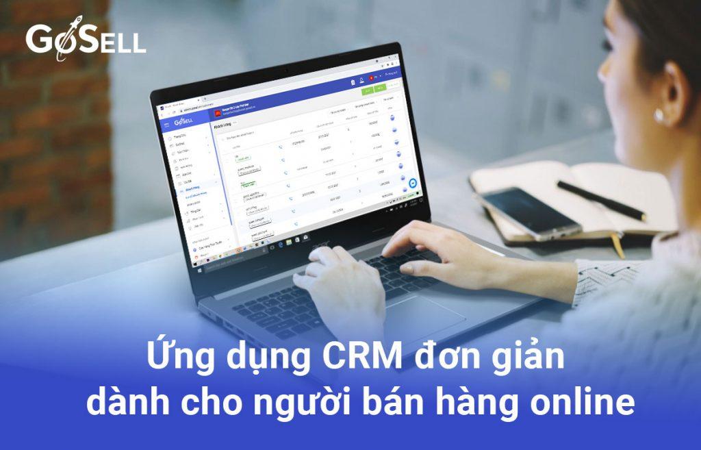 Ứng dụng CRM đơn giản dành cho người bán hàng online