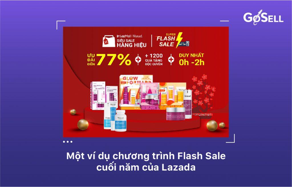 Flash sale vào dịp cuối năm