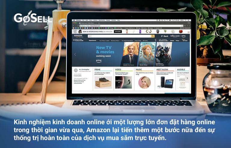 Học kinh nghiệm kinh doanh online từ Amazon