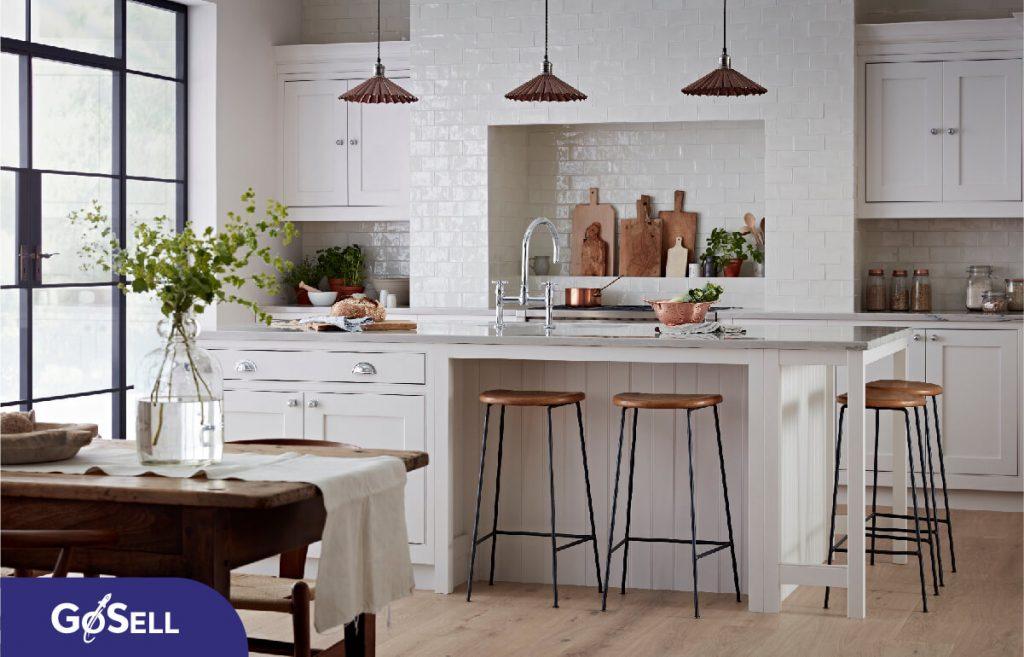 Thiết kế nhà bếp nhỏ gọn