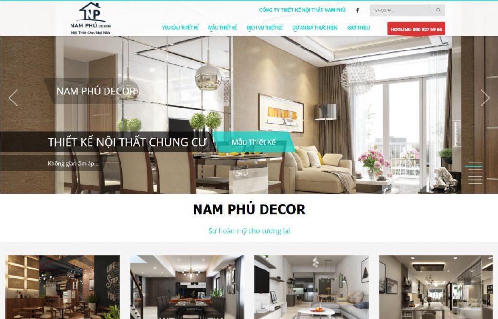 Công ty sản xuất nội thất Nam Phú Decor