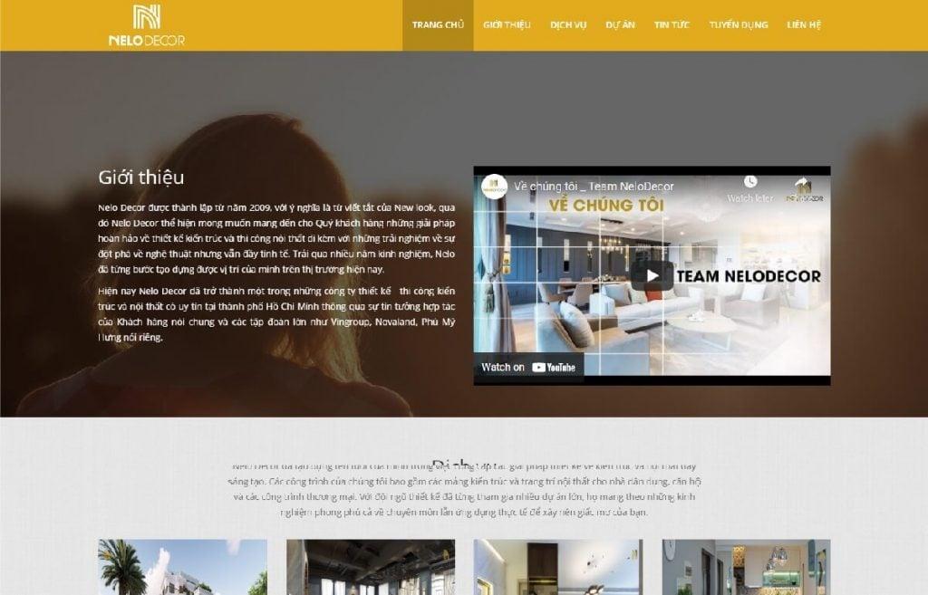 Công ty thiết kế, thi công nội thất Nelo
