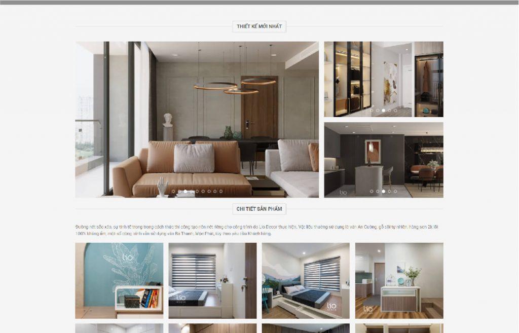 Công ty cung cấp nội thất Lio Decor