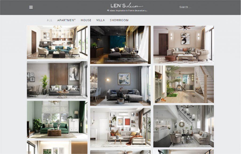 Công ty thiết kế nội thất Len's Decor