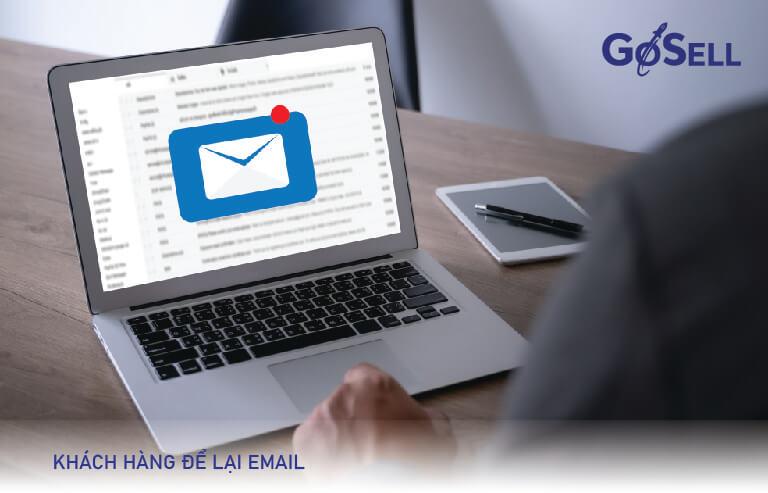 Lấy data khách hàng từ gởi email