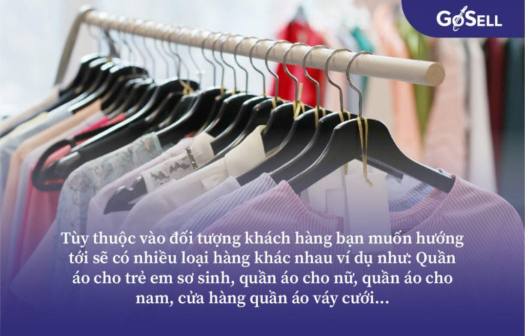 Chi phí nhập quần áo