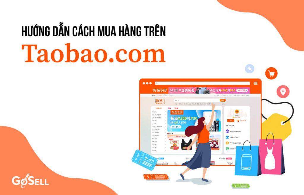 Học cách mua hàng trên Taobao