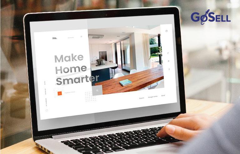 Thiết kế website bán nội thất