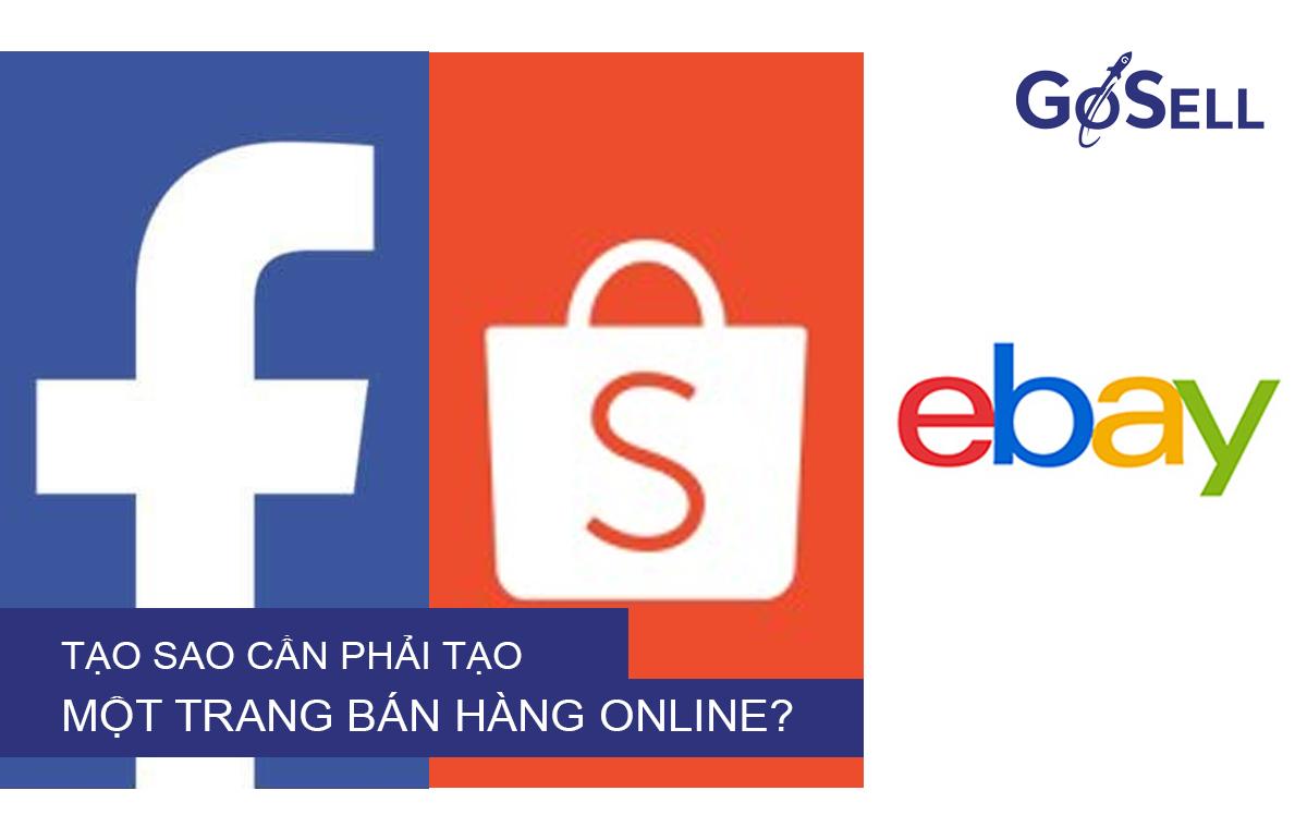 Các kênh bán hàng online