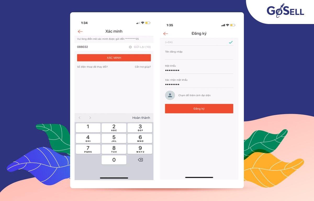 App bán hàng Shopee 2