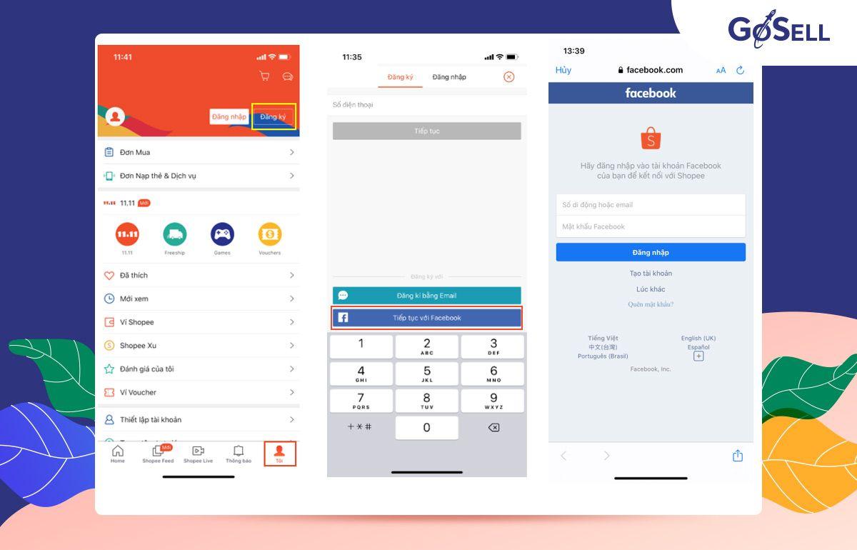 App bán hàng Shopee 3