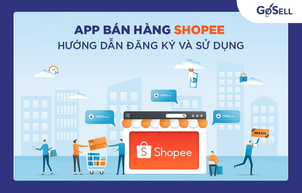 App bán hàng Shopee