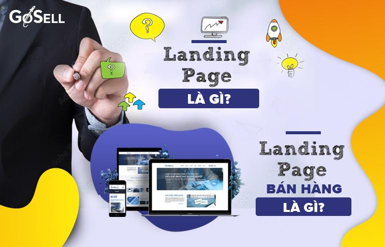 Landing Page bán hàng đẹp
