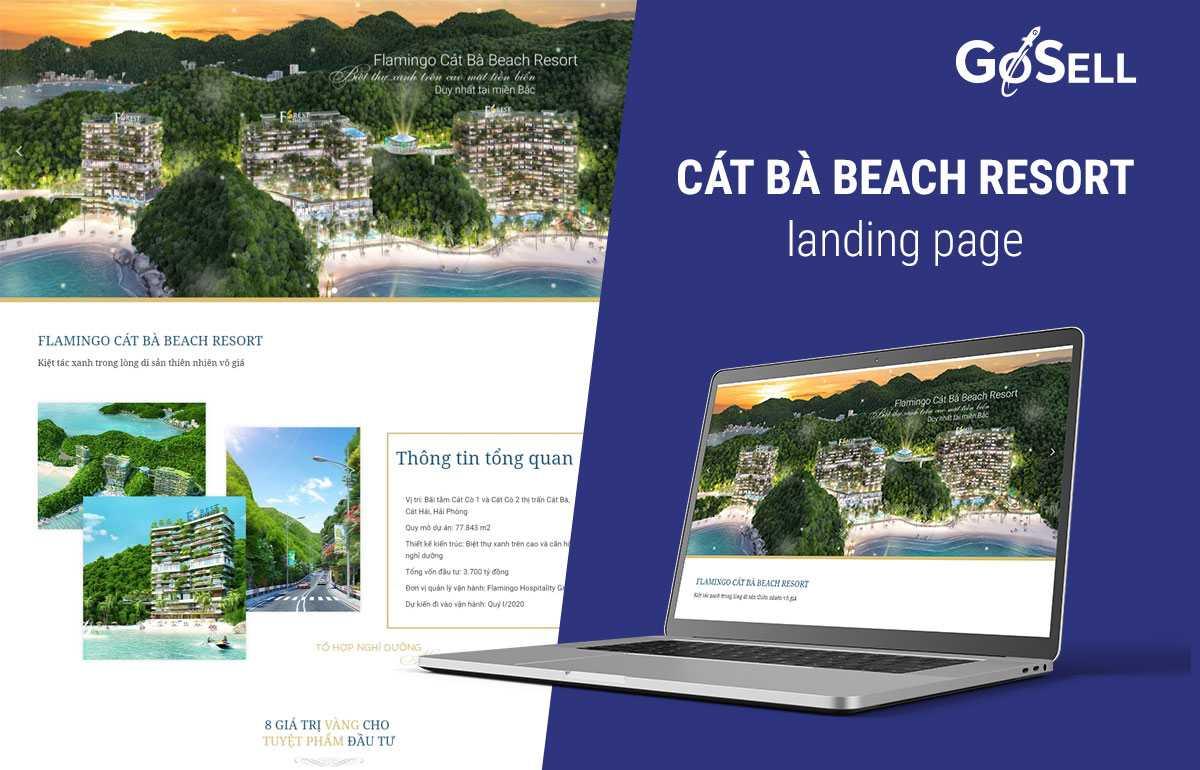 Landing Page bất động sản 3