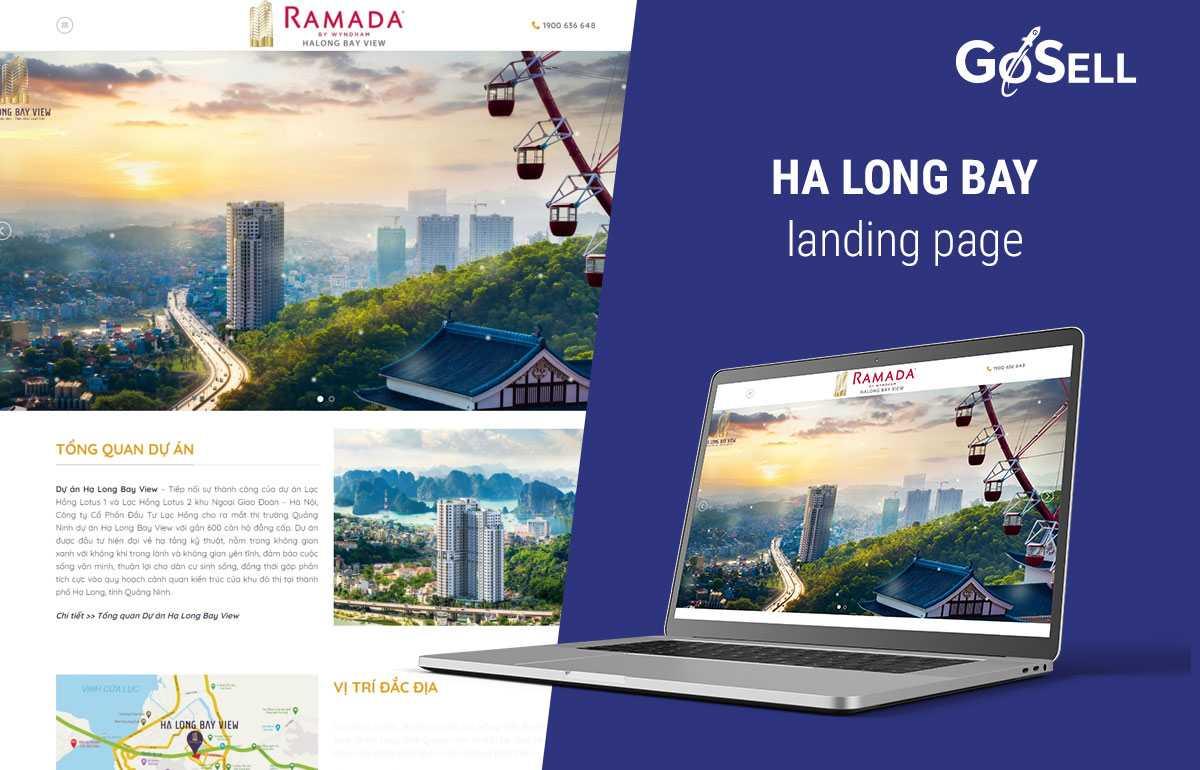 Landing Page bất động sản 4