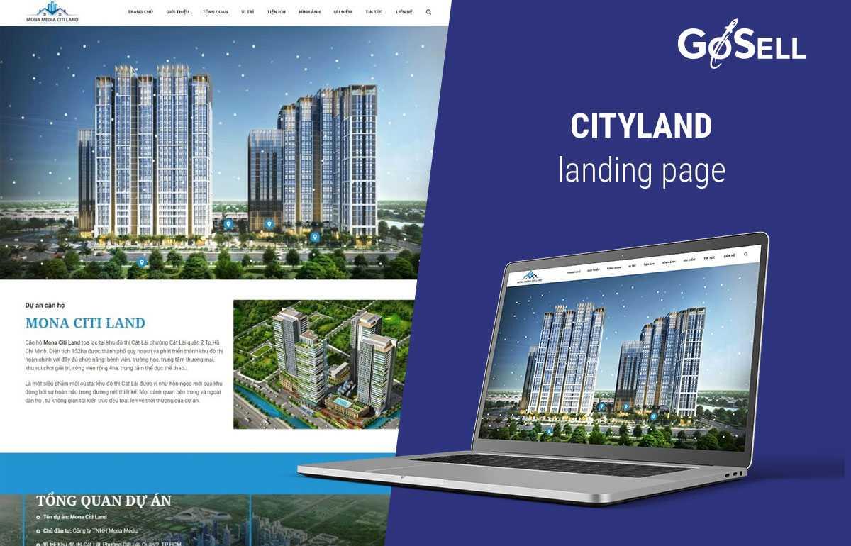 Landing Page bất động sản 6
