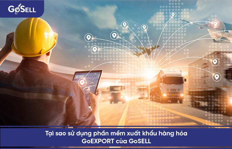 Xuất khẩu bán hàng hóa cùng GoEXPORT