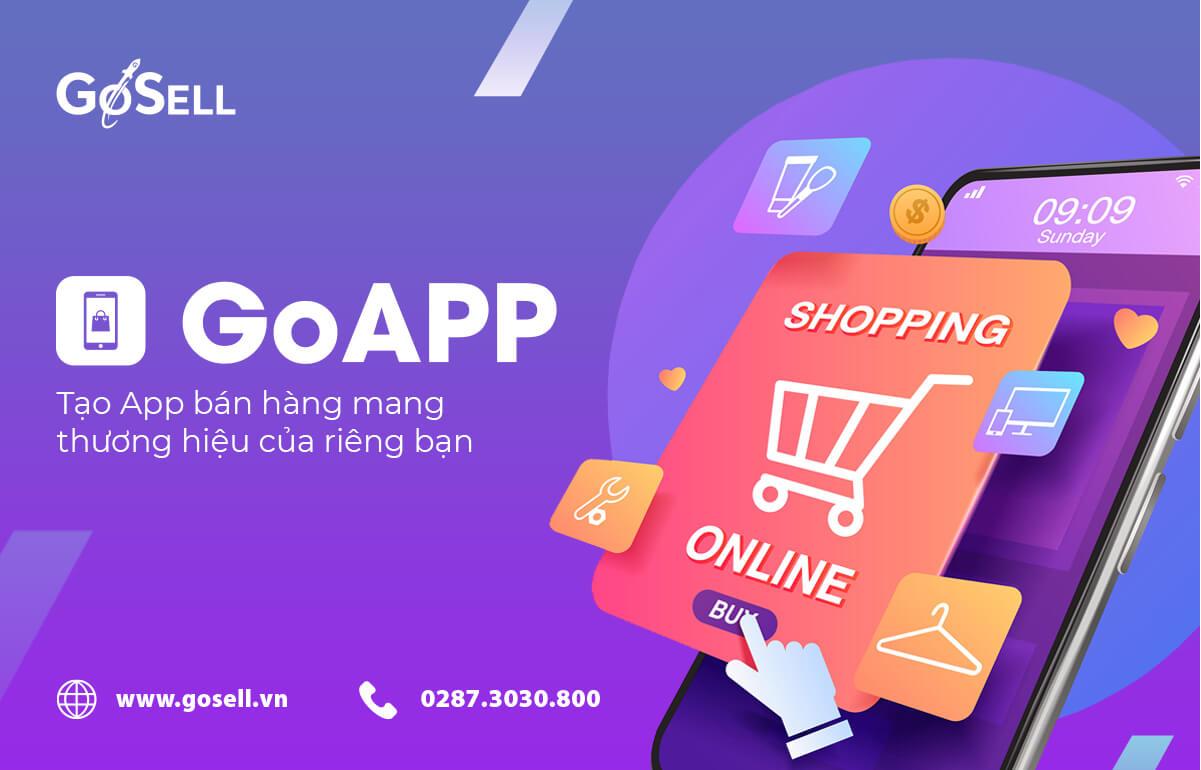 Hướng dẫn tạo app bán hàng với GoSELL