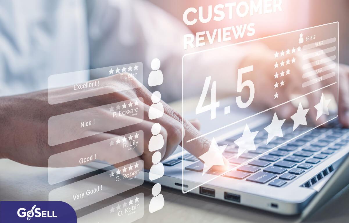 Thêm các chứng thực và đánh giá từ khách hàng