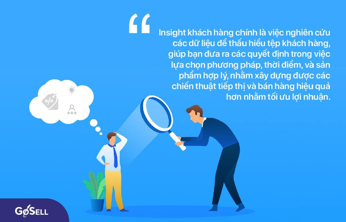 Insight khách hàng là gì?