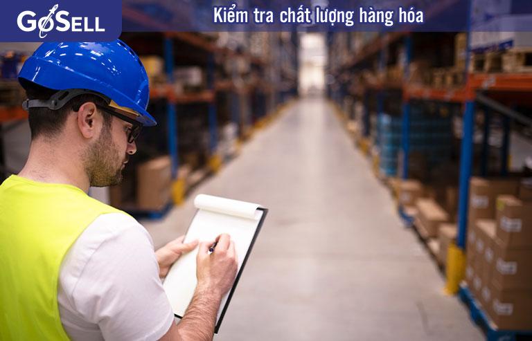 Kiểm tra chất lượng hàng hóa