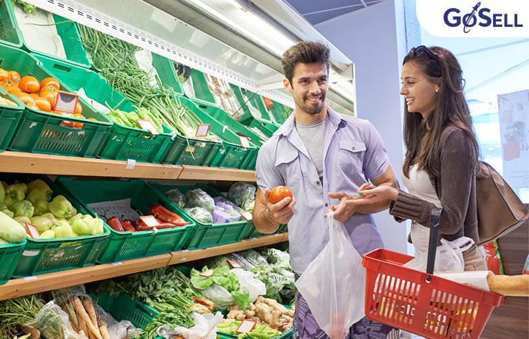 Chiến lược tiếp thị cửa hàng rau sạch
