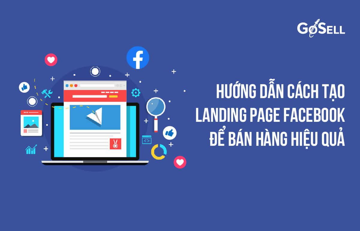 Thiết kế Landing Page Facebook đơn giản
