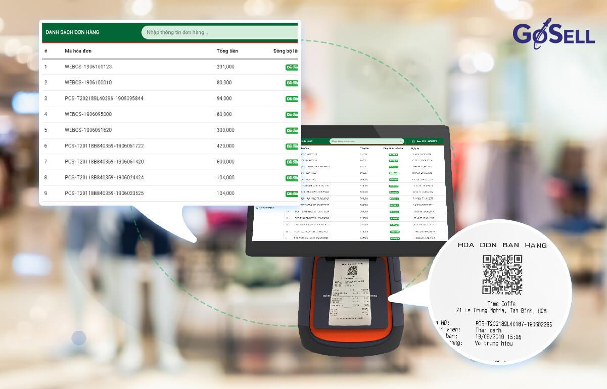 Phần mềm quản lý quán cafe 1