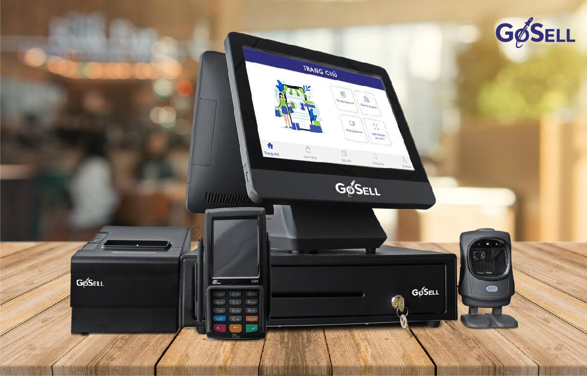 Phần mềm quản lý quán cafe GoSELL