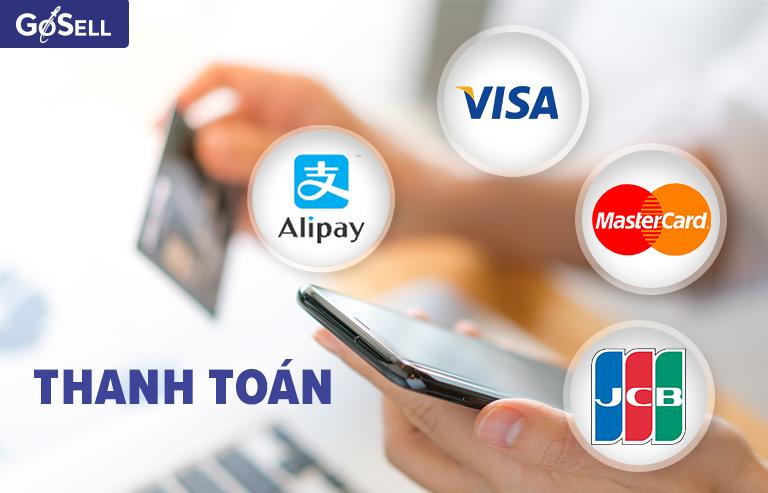 Thanh toán khi nhập hàng Alibaba chính ngạch