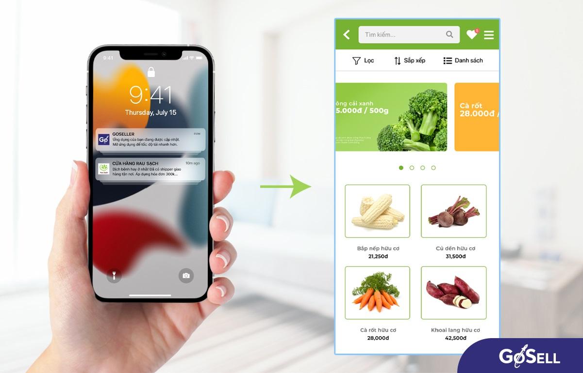 Vì sao doanh nghiệp cần thiết kế app bán hàng?