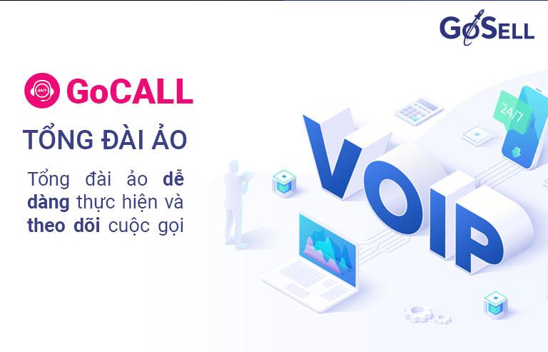 GoCALL - Tổng đài ảo dễ dàng thực hiện và theo dõi cuộc gọi