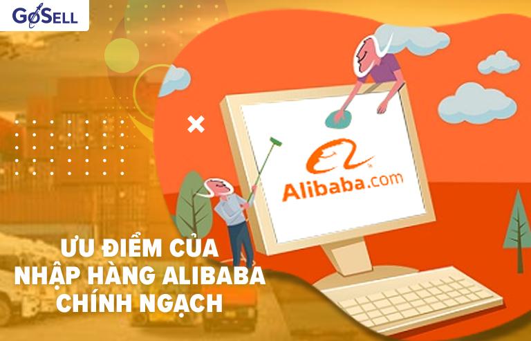 Ưu điểm nhập hàng Alibaba chính ngạch