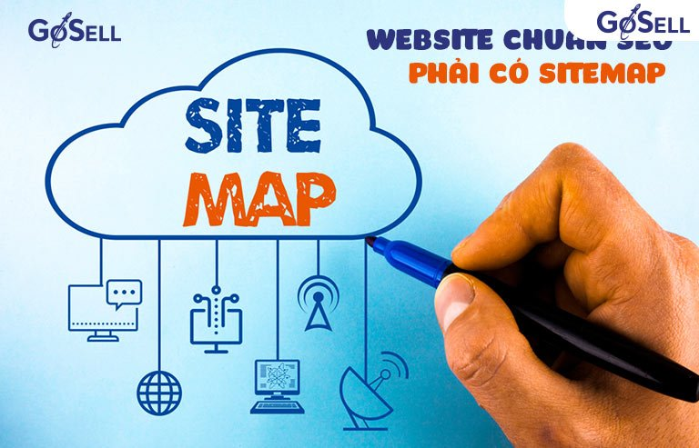 Sitemap của một website chuẩn seo