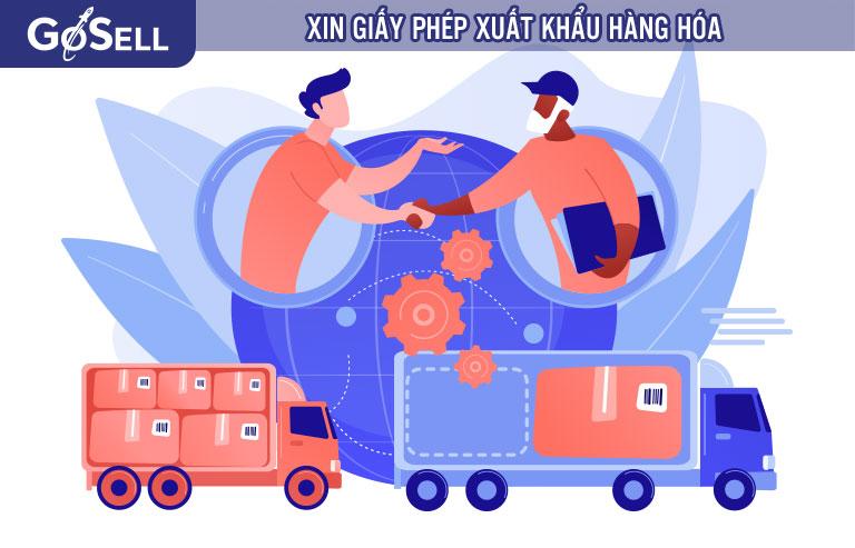 Xin giấy phép xuất khẩu hàng hóa