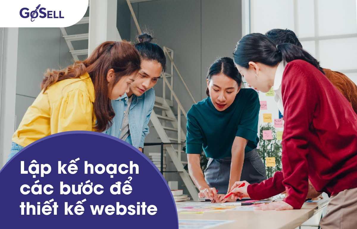 Các bước thiết kế website 2