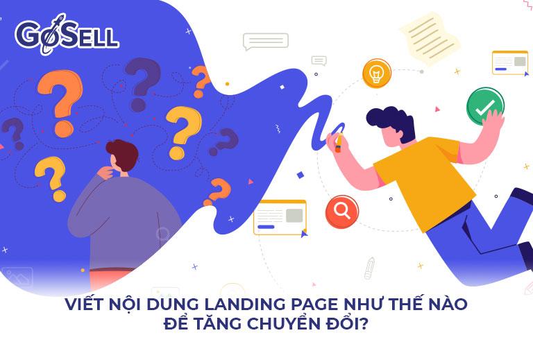 Nội dung Landing Page