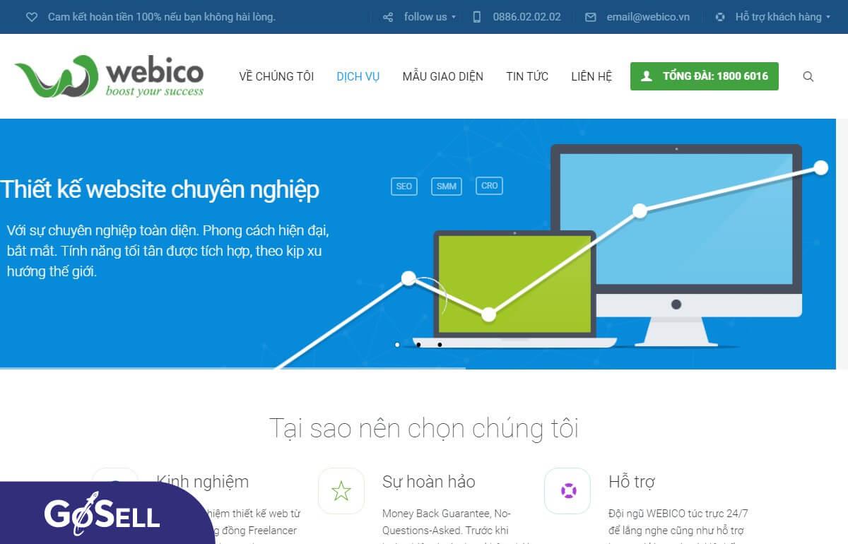 Công ty thiết kế website 8