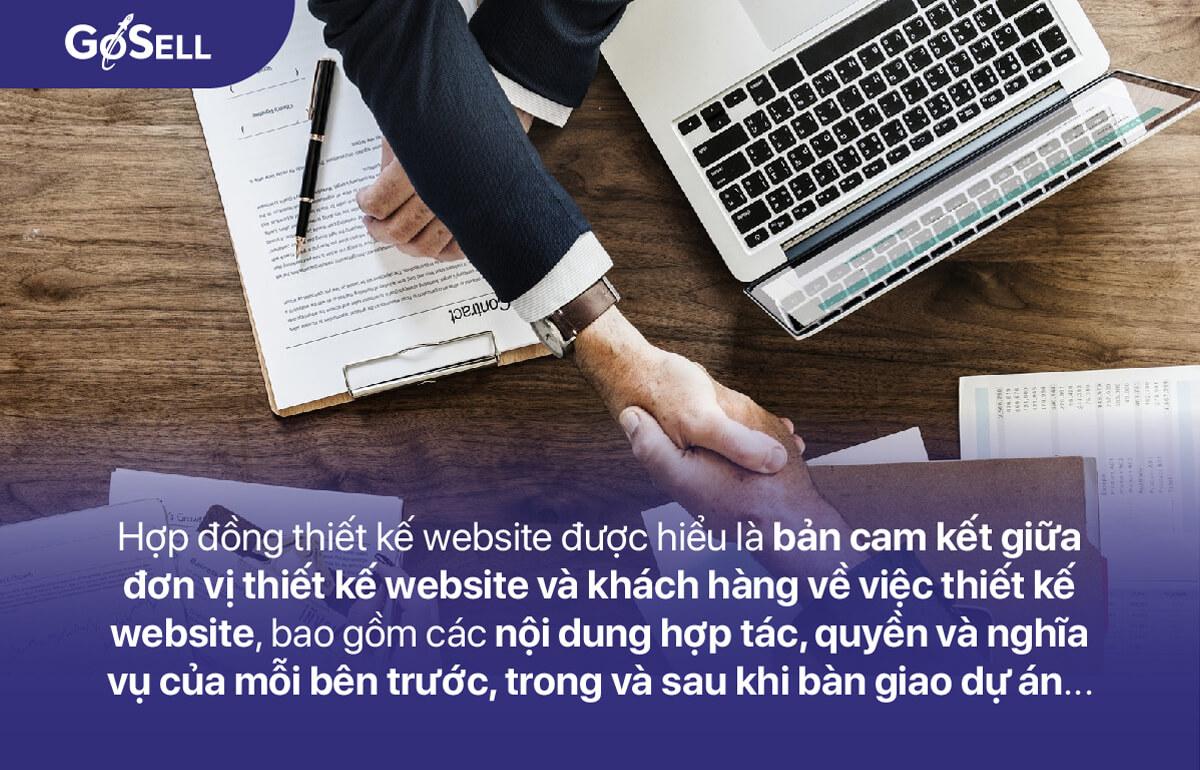 Khái niệm hợp đồng thiết kế website
