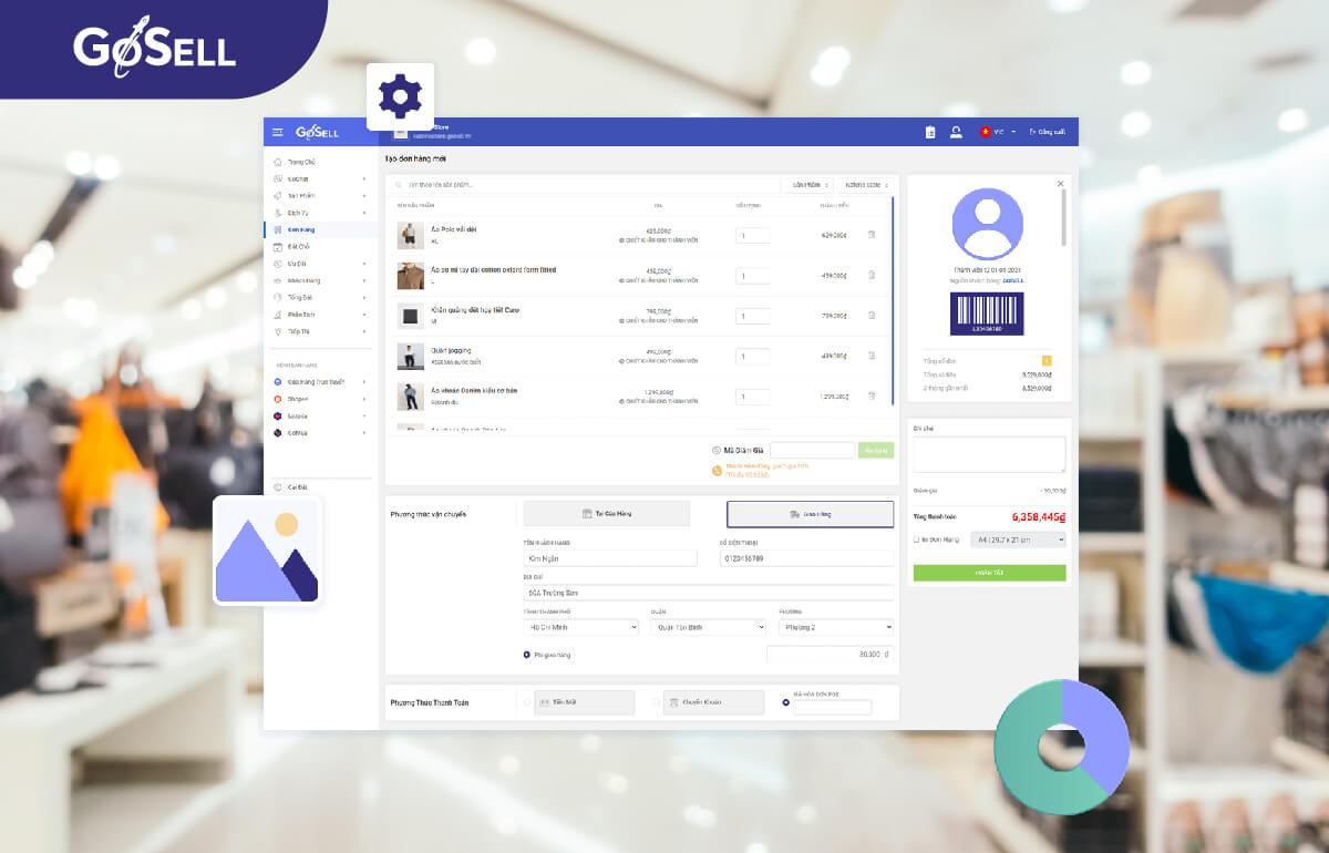 Phần mềm quản lý đơn hàng 6
