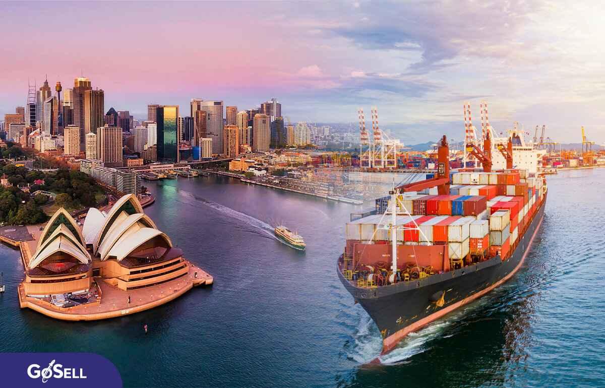Xuất khẩu hàng hóa sang Úc 1