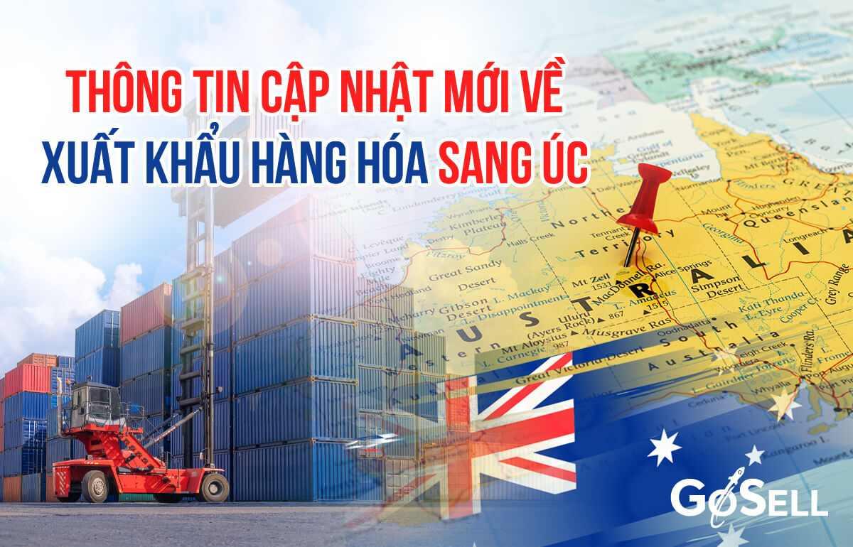 Xuất khẩu hàng hóa sang Úc